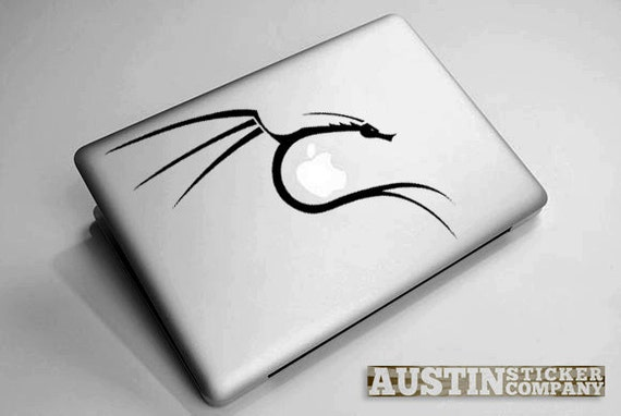 Backtrack Kali Linux Dragon by AustinStickerCompany on Etsy
