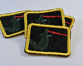Monster Patch Perfect for Kids Clothes Blue Jeans Jackets Shirts and Backpacks