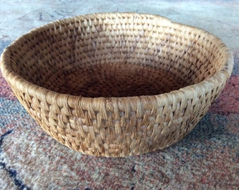 Sale - Vintage Hand Woven Native American Basket