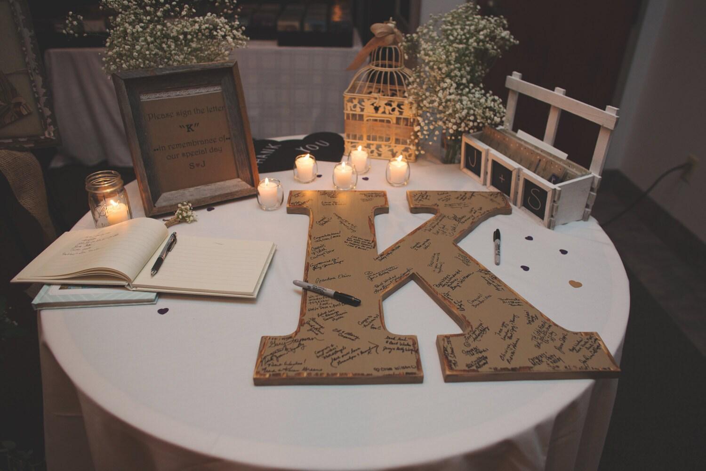 Wedding Guest Book Alternative Wedding Guestbook Signs Wedding