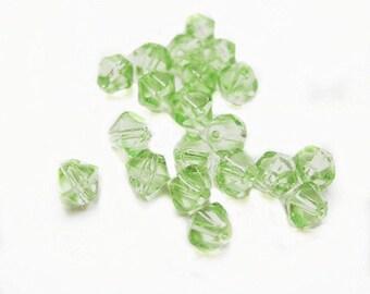 100pc 4mm bicone glass beads-3663x2