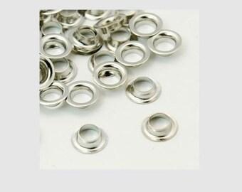 100pc platinum look European Style Brass Cores-6770