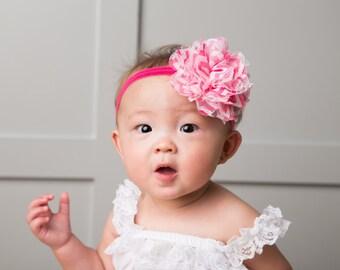 15% Off..Baby Headband..Baby Flower Headbands.. Baby Hairbow Headband..Newborn Headbands..Baby hair accessory..Baby Bow.. Baby Head Band