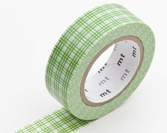 Masking Tape Roll GREEN mimasugoushi kusa MKT1PD-CC x1