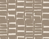 SALE - GRAMERCY by Leah Duncan for Art Gallery Fabrics - Rush Hour Tan - 1 Yard - Quilting Weight Cotton Fabric