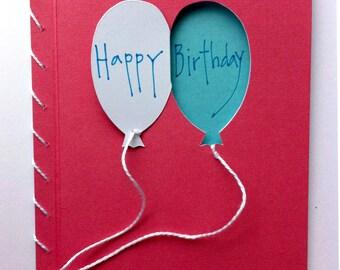 Double Balloons Card
