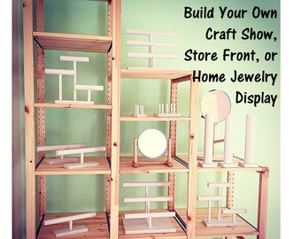 Craft Show / Store Front / Home Jewelry Display - Customize to suit your needs! - 30 Color Choices!