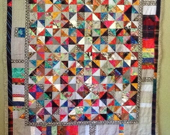Memory quilt   Reserve for Lindsey for her father Chris