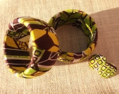 African print bangles set