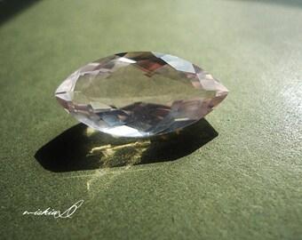 Rose Quartz Gemstone, Loose Rose Quartz, Marquise Cut Gemstone, Pink Quartz,  Gemstone for Ring, Jewelry Supply, Craft Supply
