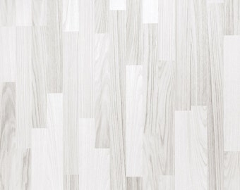 Bright White Wood - Vinyl Photography  Backdrop Photo Prop