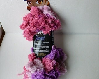 Yarn Sale  - Pink Purple Zoey  Knit or Knot by By Bernat