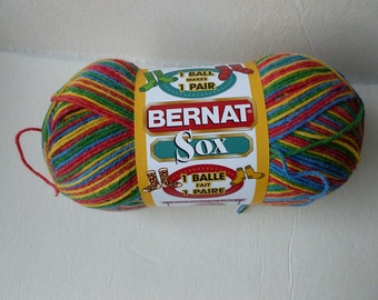 Yarn Sale  - Crazy Hot Sox by Bernat