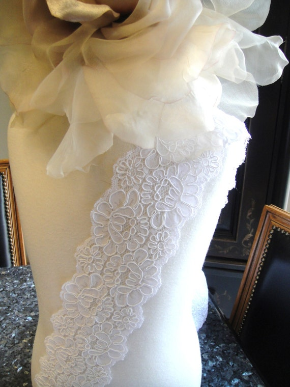 how to make alencon lace
