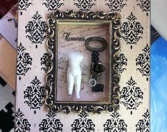 Memories  Shadow Box Wall Hanging