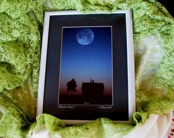 Signed Framed Limited Edition Boswell Great,  Boswell Nebraska Moon, Gifts under 200