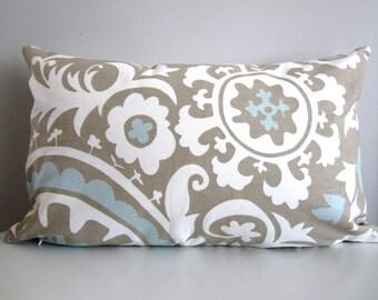 Modern Lumbar Pillow, Neutral Pillow cover, Decorative Pillow Cover- 14x20 Pillow Cover