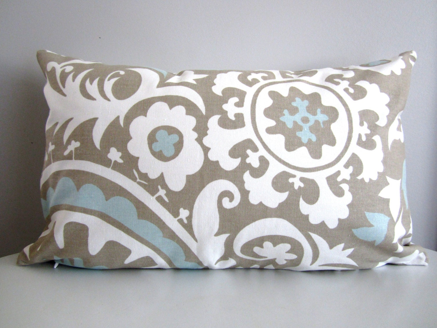 Modern Pillows Etsy : Modern Lumbar Pillow Neutral Pillow cover Decorative Pillow