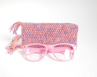 Pink Glasses Case. Eyeglasses Case. Sunglasses Holder. Sunglasses Case. Spectacles Case. Reading Glasses Holder.