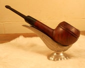 BB - This is a vintage Unmarked Imported Briar tobacco pipe.
