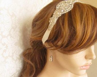 Rhinestone Headband / Crystal Headband
