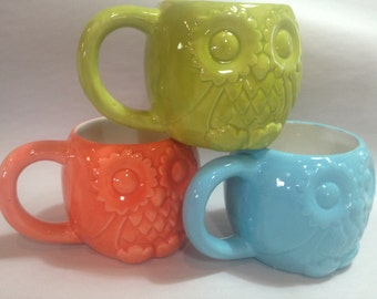 Owl Mug in classic colors