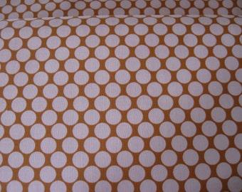 Full Moon Polka Dot Fabric in Camel designed by Amy Butler for Free Spirit/Rowan Fabrics 1 yard