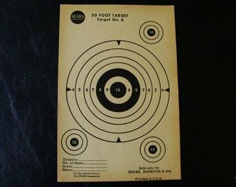 Vintage 50 Foot Target no. 6 by Sears