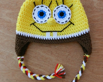 Popular items for crochet spongebob on Etsy