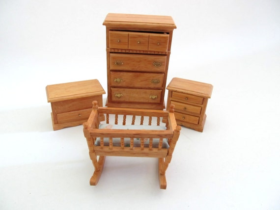 On Sale New Year Discount Wooden Dollhouse 4 By Fromsomeonesattic
