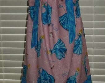 Boutique Pillow Case Dress featuring Cinderella size 3 Months thru 6/7 : CH063
