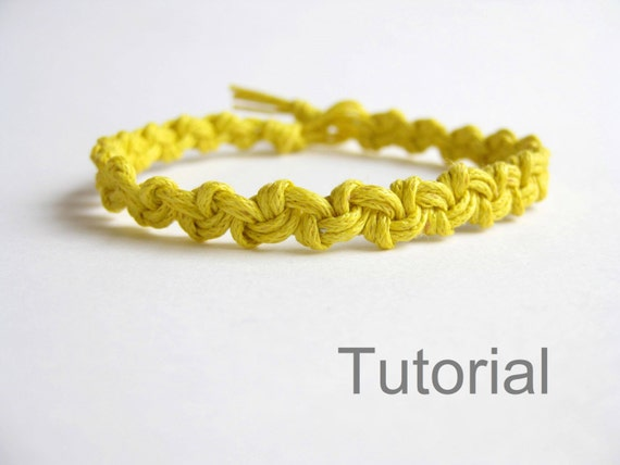 macrame bracelet pattern tutorial pdf easy yellow how to. Black Bedroom Furniture Sets. Home Design Ideas
