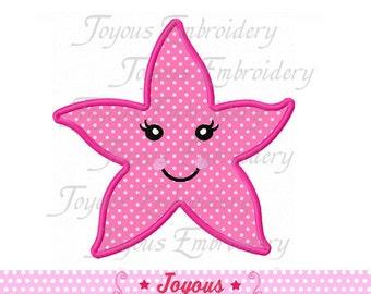 Instant Download Starfish Applique Machine Embroidery Design NO:1495