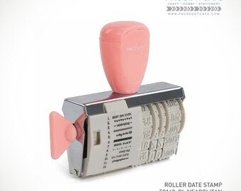 BEST SELLER - Dear Lizzy Neapolitan Roller Date Pink Stamp
