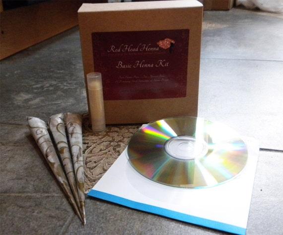 Mehndi Henna Kit Instructions : Clearance sale henna basic kit just the basics to by