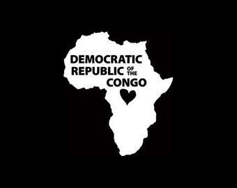 Democratic Republic of Congo (DRC) Window Decal