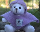 Tuli the bear with Punchik Handmade Mini Poncho - PUNCHIK