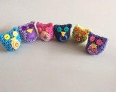 Custom Miniature Owl Bundle for Kristin Perdue