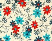 Kei  Vintage Time Floral Color D  for  Yuwa of Japan