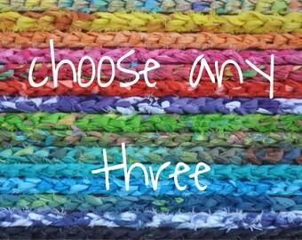 Custom Color Headband Crochet Choose any Three