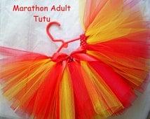 ADULT TUTURunner Tutu, Marathon Tutu, Color Run Tutu, TuTu Skirt,Adult Marathon, Large Tutu, St. Patrick's Day Tutu, Any Size Tutu,Tutu