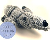 PATTERN ONLY - Serenity ship from inspired by Firefly crocheted plush toy