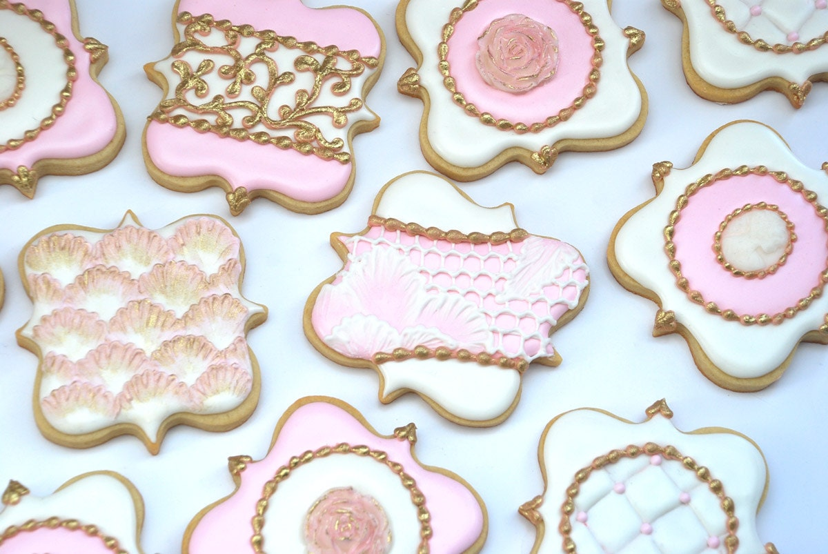 Decorated Sugar Cookies For Weddings. wedding themed chocolate ...