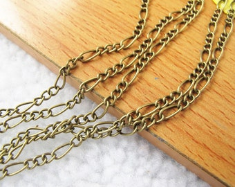 6 Meters 3x7mm Antique Bronze High Quality Chains A2184-16C