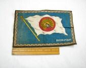 Vintage Cigar Box Felt With Burmah Flag