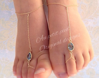 Baby barefoot sandals,barefoot sandals for baby and toddler, birthstone jewelry, photo prop, barefoot sandals