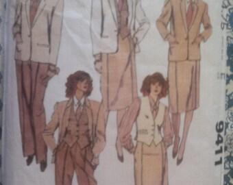 McCalls 9411 Vintage Separates Sewing Pattern