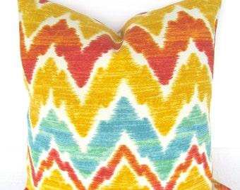 orange outdoor pillows yellow chevron throw pillow covers turquoise orange pillow covers 16 18 20x20 mint
