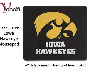 Iowa Hawkeye Mouse Pad          - Univ of Iowa   Mousepad