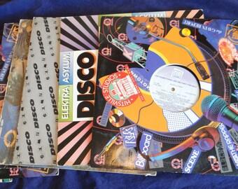 8 Extended Play Disco Vinyl Records - Got Saturday Night Fever!